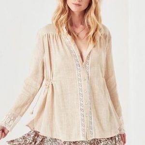 NWT spell Paloma blouse medium